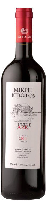 Mikri Kivotos Red Blend Wine, Lantides Estate