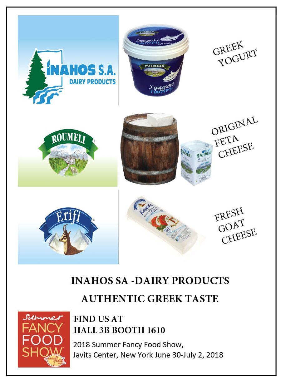 INAHOS SA - DAIRY PRODUCTS