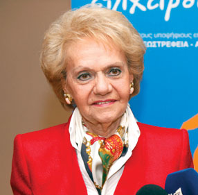 Christina Sakellaridi, President of the Panhellenic Exporters Association