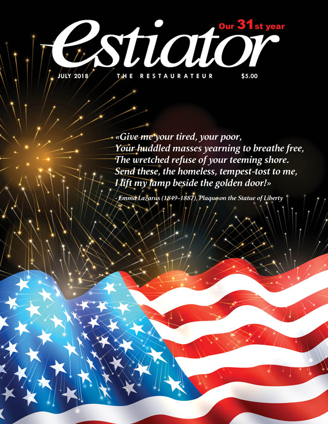 Estiator Magazine, July 2018 Cover