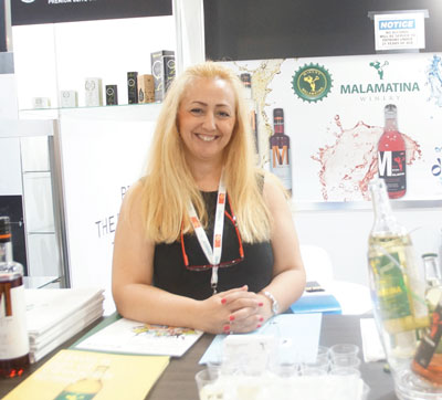 Summer Fancy Food Show 2018: E. Malamatinas & Son S.A, Kalochori, Thessaloniki: Despoina Sachinidou, Export Sales Manager.