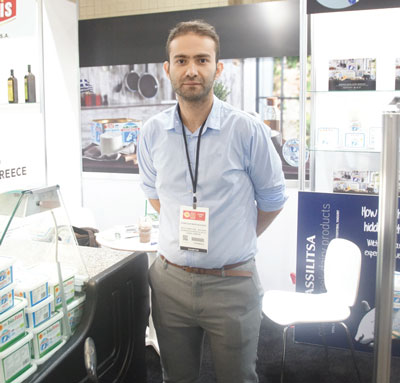 Summer Fancy Food Show 2018: Feta Vassilitsa, Larisa, Greece: Konstantinos Nousias, Owner.