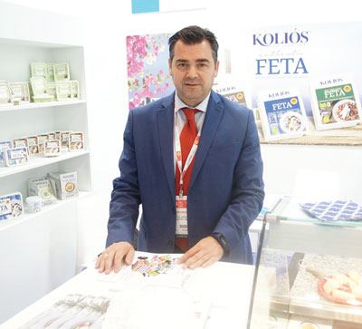 Summer Fancy Food Show 2018: Kolios SA, Polykastro, Greece: Yannis Zacharopoulos, Commercial Director.