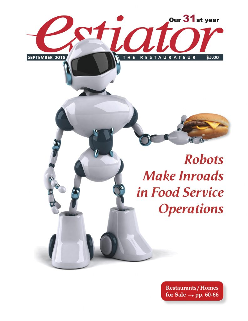 Estiator Magazine Cover, August 2018